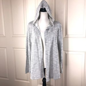 Columbia Space Dyed Knit Hooded Cardigan Sweater